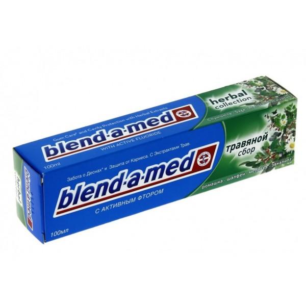 Зубная паста  blend-a-med 100мл кариес Травяной сбор