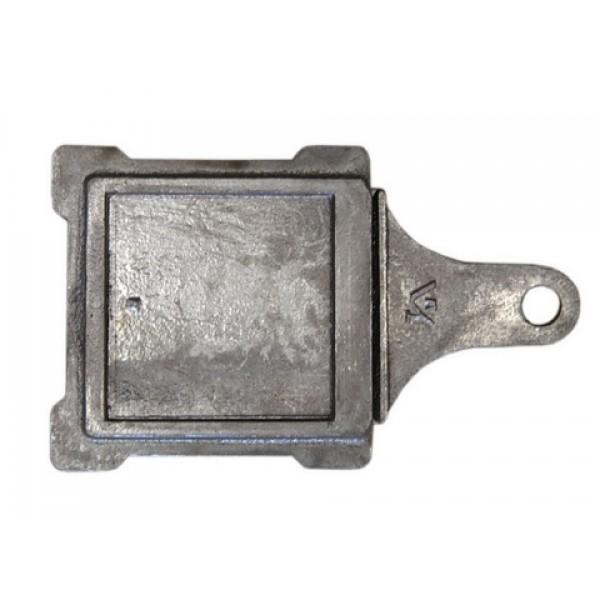 Печное литье задвижка ЗВ-1 (130х130 вес 2кг) (Тверь)  /по 10 шт