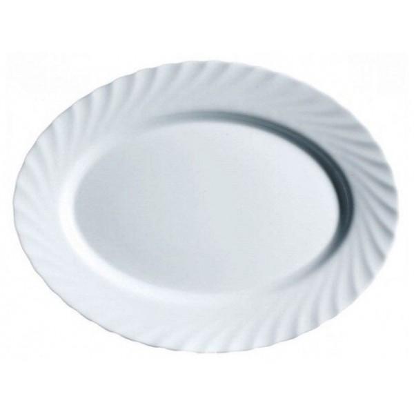Блюдо овальное 35см Трианон