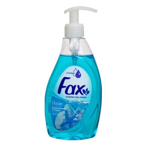 Мыло жидкое FAX Лимон 400 мл