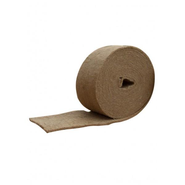 Лента джутовая (пакля) д/прокладки м/у бревен 0,8*180*20м