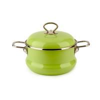 Кастрюля 2,5л Зеленое яблоко