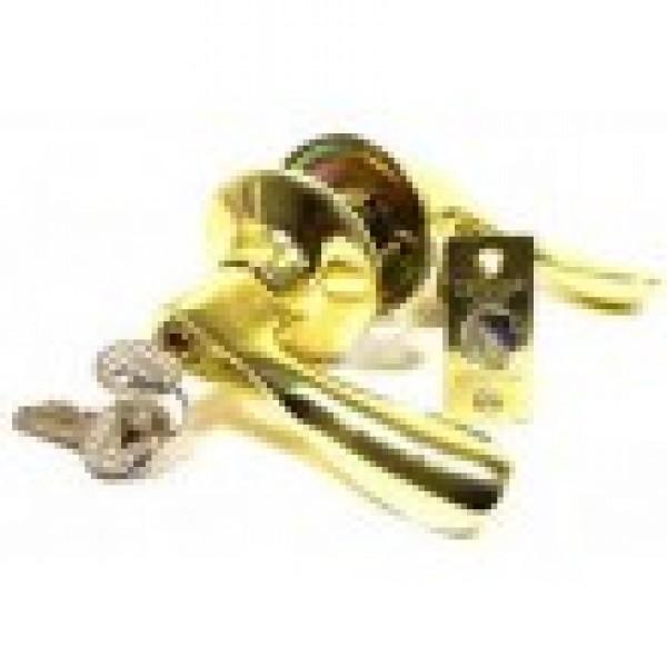 Защелка ЗВ3-01 с ключем TRODOS (золото)