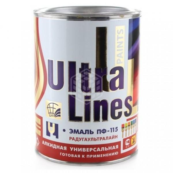 """""""Ultra Lines"""" Светло серая ПФ-115 0,9 кг."""