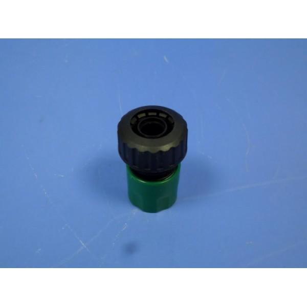 Коннектор 3/4 пластмассовый для соединения гибких поливочных шлангов  /25/500