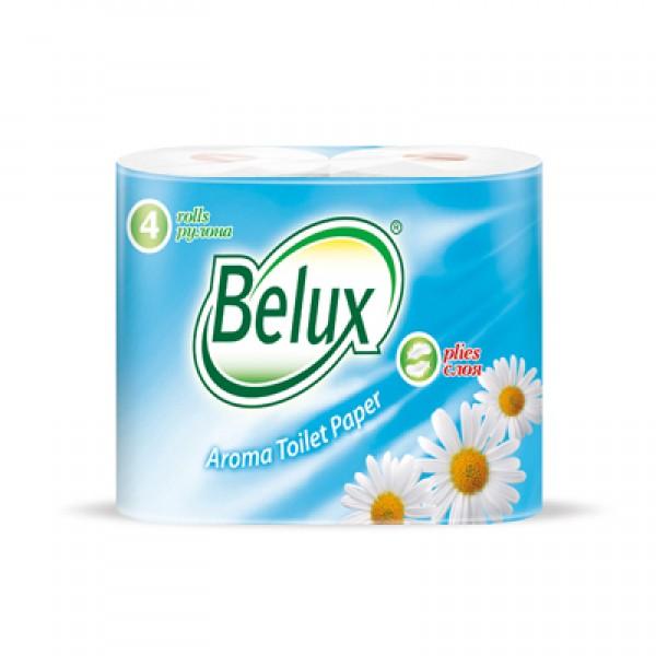 Туалетная бумага BELUX 4шт в ас-те