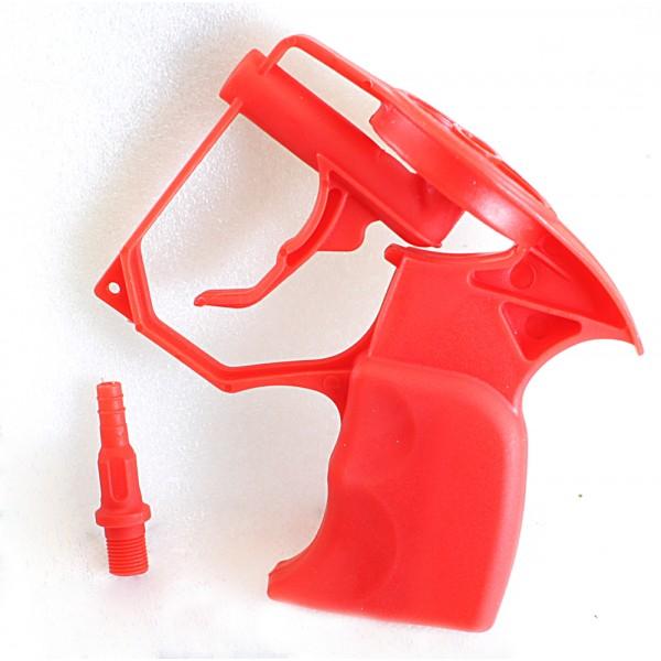 Пистолет для пены пластиковый с 4 сменными трубками(160мм)  (145*130мм) SPETSTEXNIK /1/100