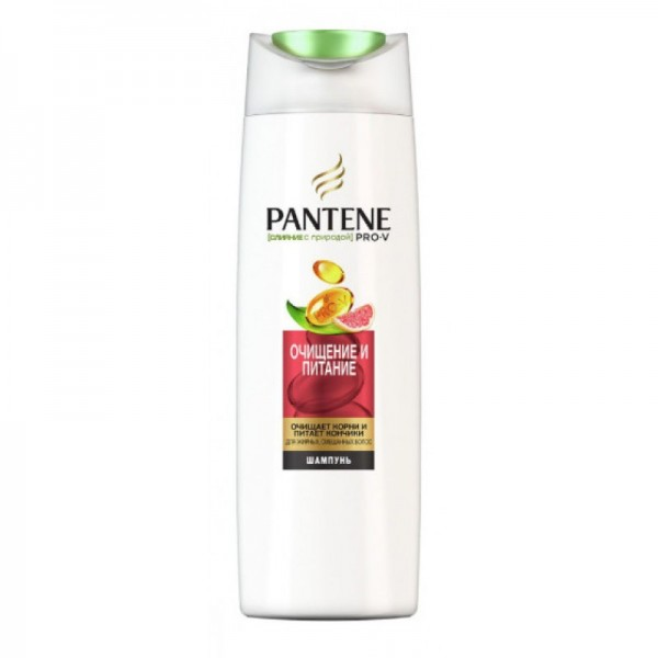 Шампунь PANTENE  300мл Очищение и питание