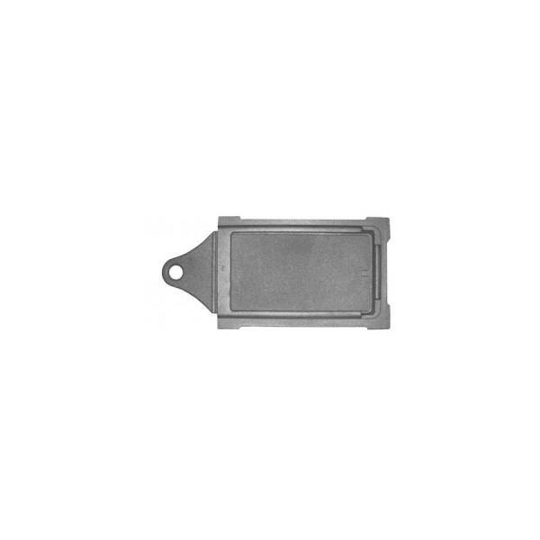 Печное литье задвижка ЗВ-3  (390 на 190)  (Бисер)