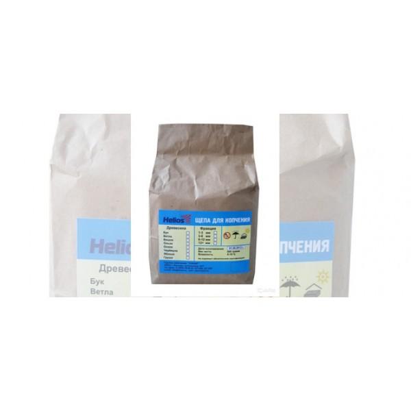 Щепа для копчения (груша) 500 гр Helios