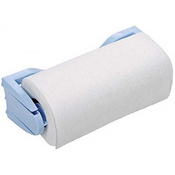Держатель для бумажных полотенец голубой