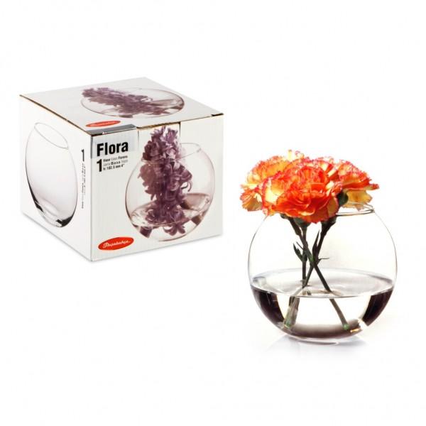 Ваза для цветов Флора шар н=79мм