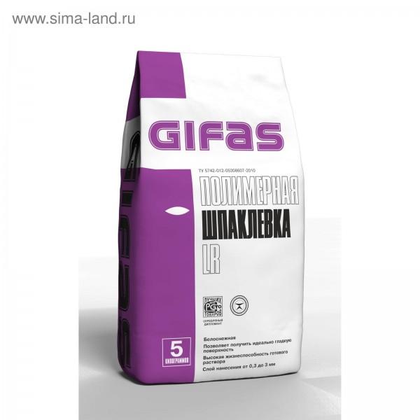 Гифас Шпаклевка полимерная LR 5 кг