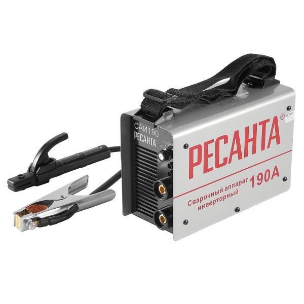 Сварочный аппарат инверторный САИ 190 Ресанта