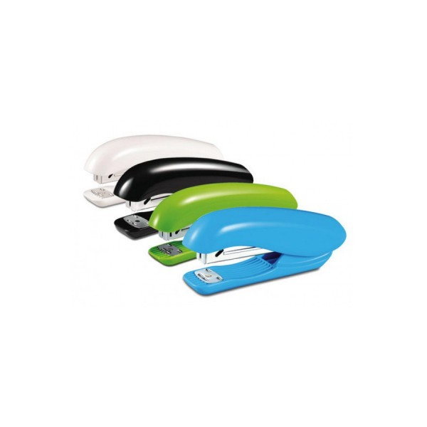 Степлер 24  20л Dolfin Half strip 150скоб ассорти