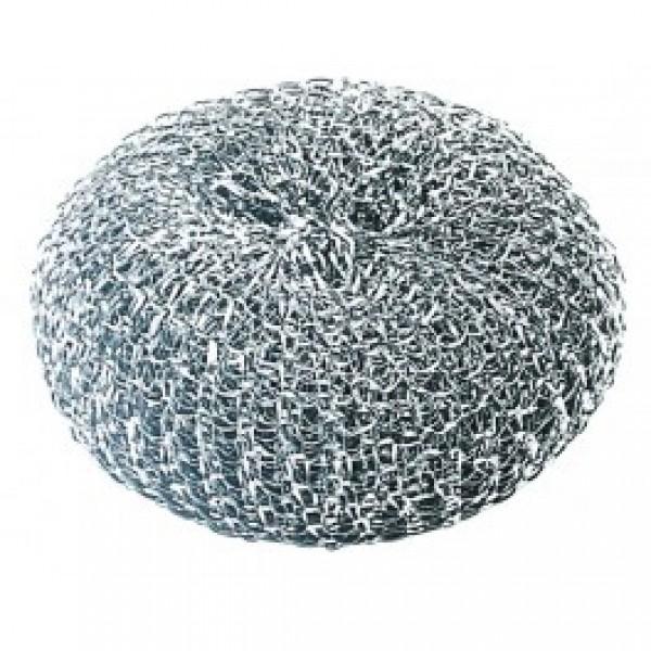 Губка для мытья посуды металлическая