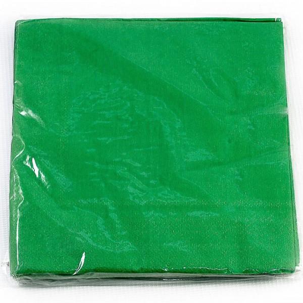 Салфетки 2-х слойные 33*33 Зеленый