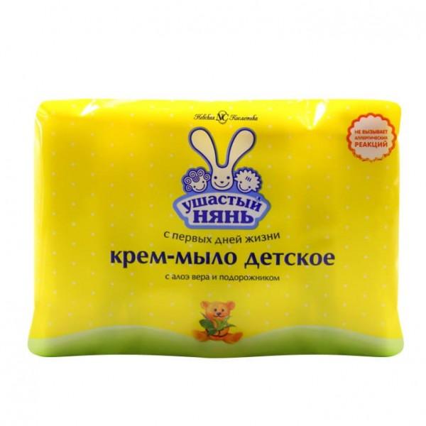 Мыло детское Ушастый нянь 4*100гр с алоэ