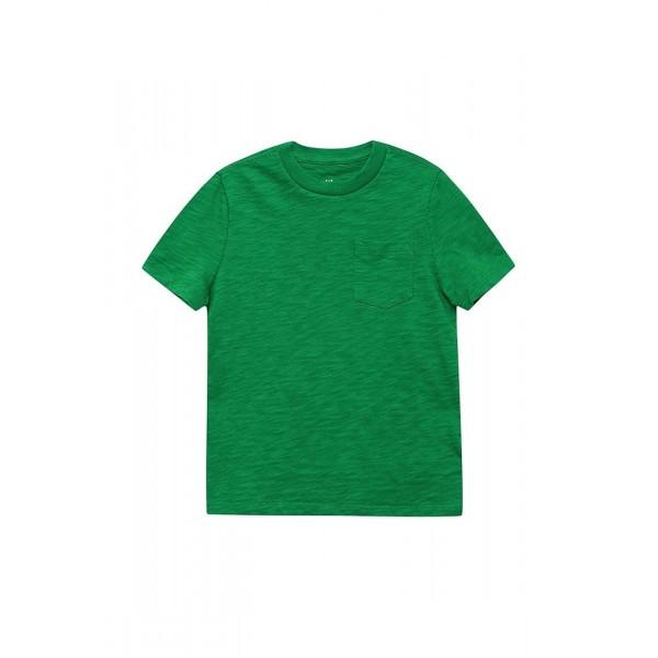 Футболка однотонная; Зеленая; Ткань:кулирка; Состав ткани: 100% хлопок; Рост: 170 -ИВАНОВО