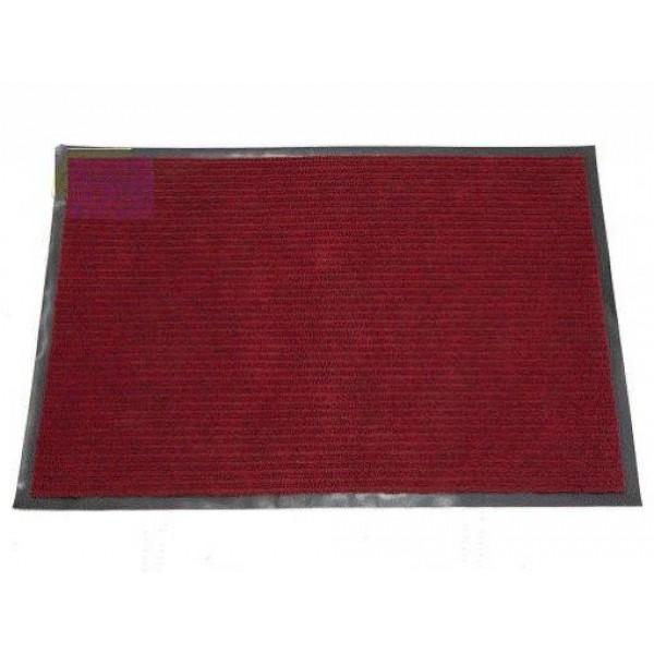 Коврик влаговпит.ребристый (40х60см) Красный 1/50