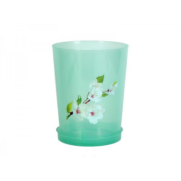 Горшок цв.для орхидеи 3,5л с поддоном (Альтернатива) м1455 /5