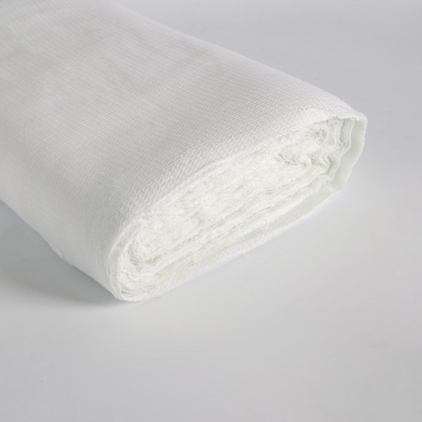 Полотно х/б вафельное (60м*45см) плотность 145 +/-5 г/м белое