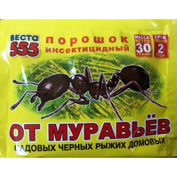 Дуст Веста 555 от насекомых 30гр