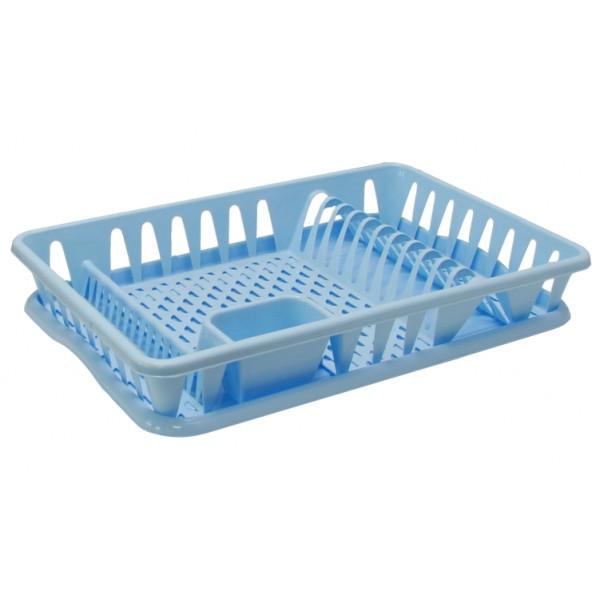 Сушилка для посуды Большая (голубой)