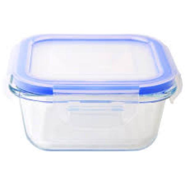 Контейнер пищевой прямоугольный 0,5мл с защелками прозрачный