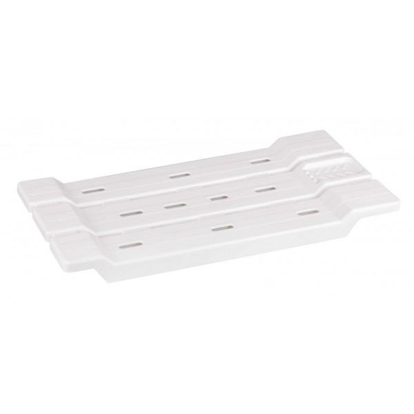 Полка для ванной (сиденье) (белый)  м1552 1/5
