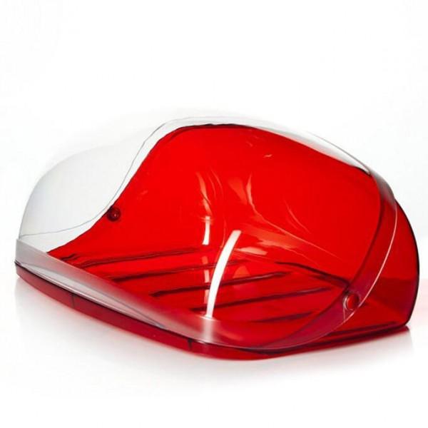 Хлебница Кристалл больш красный