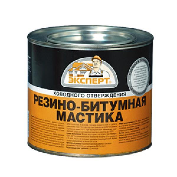 Мастика резино - битумная Эксперт 1,8кг