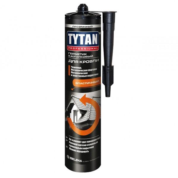 Герметик TYTAN PROFESSIONAL каучуковый для кровли бесцветный 310мл