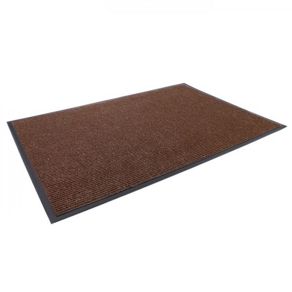 Коврик влаговпит.ребристый (60х90см) Темно-коричневый 1/30