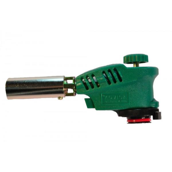 Горелка газовая для баллона 220мл, с пьезоподжигом G-0580-1 (усиленное сопло)