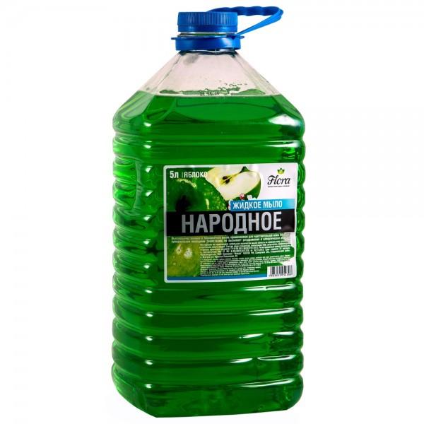 Жидкое мыло 5л Народное