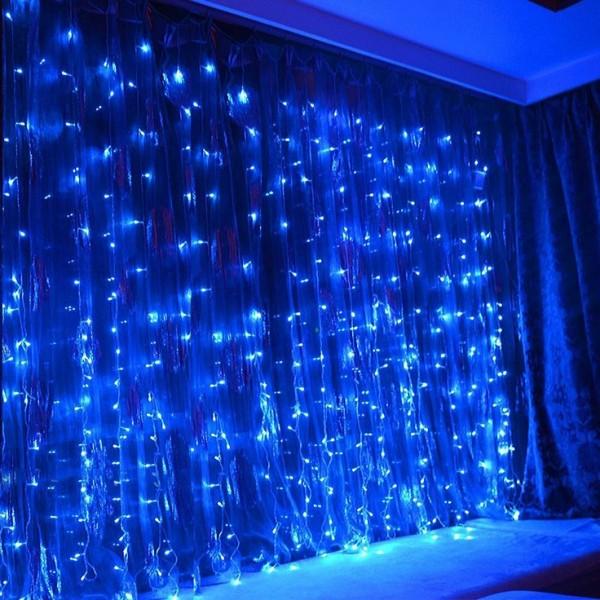 Гирлянда Занавес светодиодный 320 LED, 3х2м, белый