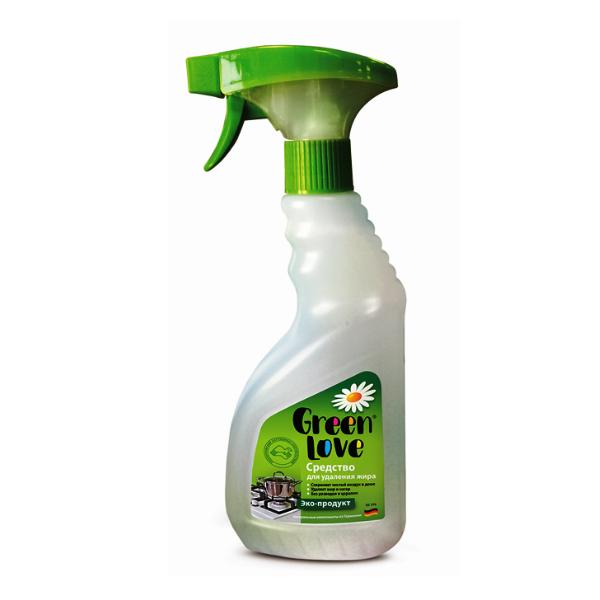 Средство чист.д/кухни GREEN LOVE 330мл д/удаления жира и нагара