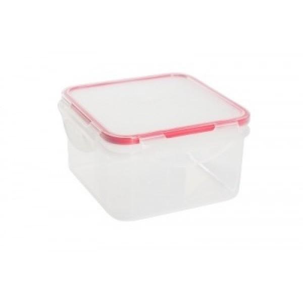 Контейнер для продуктов Clipso квадр. 0,7л чери