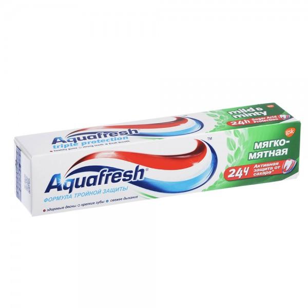 Зубная паста Аквафреш 3+ мягко-мятная 100мл