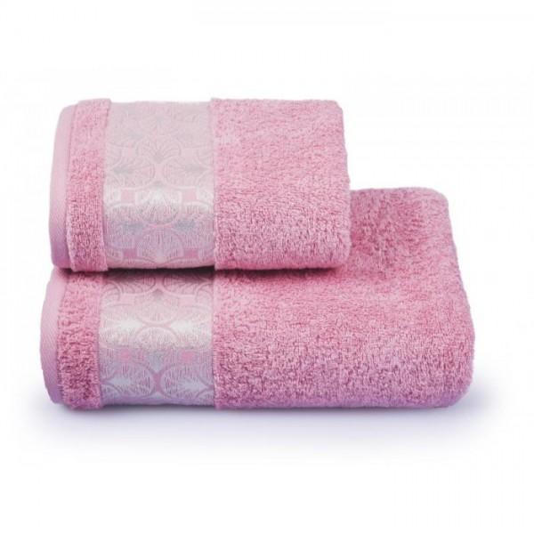 Полотенце махровое Cleanelly Sirena 420 г/м ПЦ-2601-3532 1сорт 50х90 цв.14-1907 розовое