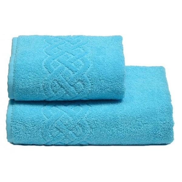Полотенце махровое Cleanelly Plait 360 г/м (50х90) (Россия) цв.149 голубое