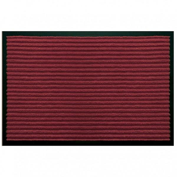 Коврик влаговпит.ребристый (50х80см) Темно-Красный 1/50