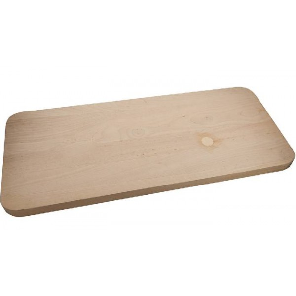 Доска разделочная деревянная 400х280х30(береза) ДР11