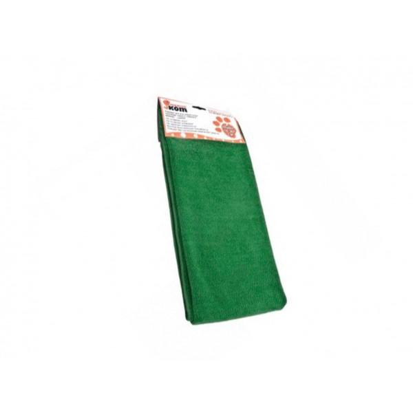 Тряпка для пола из микрофибры Рыжий кот цвет:зеленый; размер: 80х100 см
