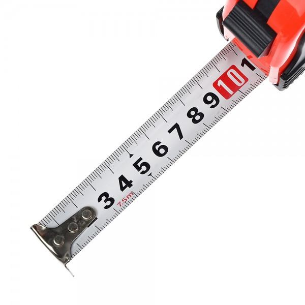 Рулетка MT  5мх25мм, 1 фиксатор, ударопрочный прозрачный корпус /12/180