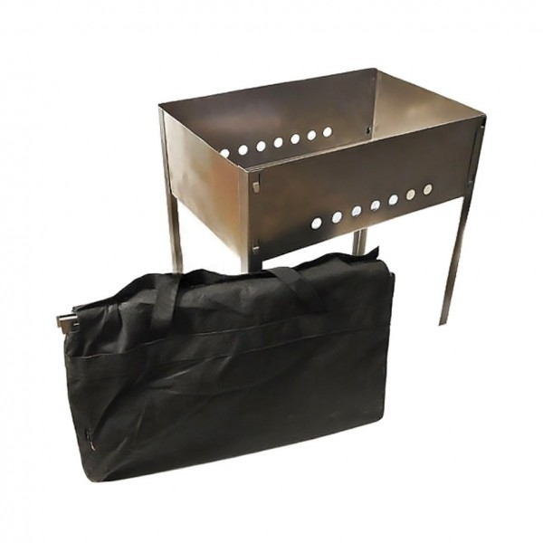 Мангал без шампуров в сумке 500, толщина 0,8мм, МНГ/1 (Россия)