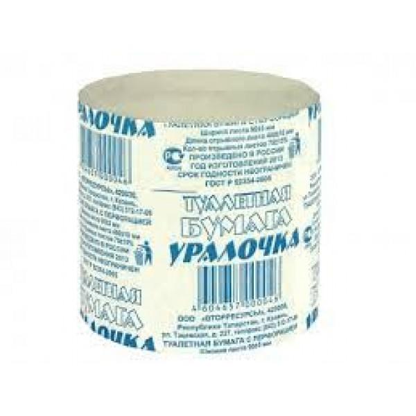 Бумага туалетная Уралочка(1уп-48шт)