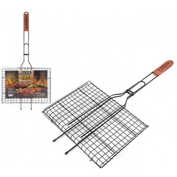 Решетка-гриль плоская маленькая 25*25 ECOS BBQ, 999620