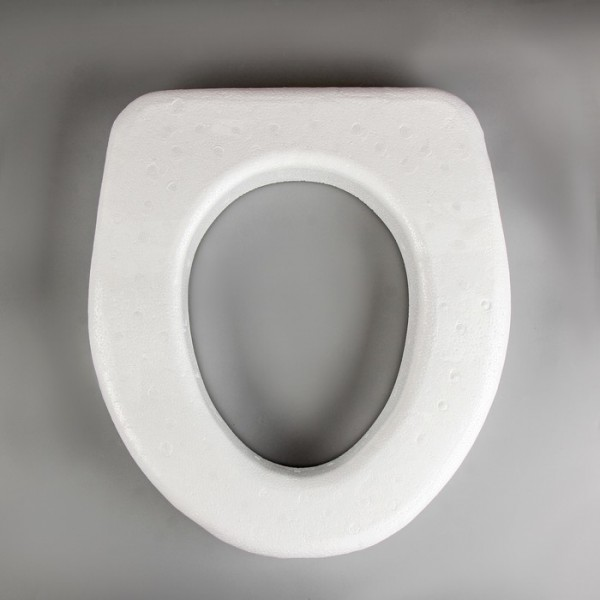 Сиденье для туалета пенопласт (розовое)